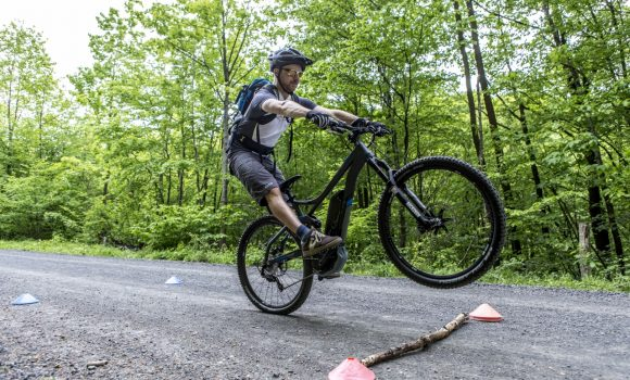 How to do a Manual Front Wheel Lift